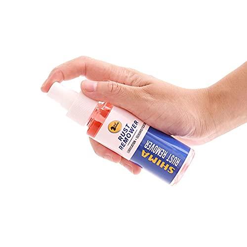 BAOLE Correcto Spray Removedor De Óxido, Limpieza, Multifuncional Piezas de Automóvil Limpiador de Óxido Spray para Cocina Hogar Automóvil Eliminador de Óxido de Doble Uso 50ml Effectual