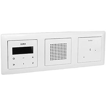 Gira Haut-parleurs 228227 UP-Radio Système 55 Reinweiss Mat