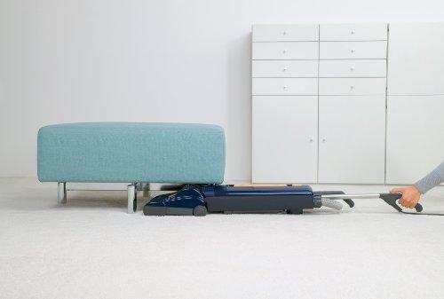 SEBO 9587AM Automatic X5 Upright Vacuum, Blue/Yellow - Corded