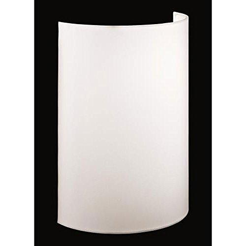 Dimmbare LED-Wandleuchte mit weißem Stoffschirm, Samsung LED 8,4W, Shine-LOFT, Fischer-Leuchten 55241