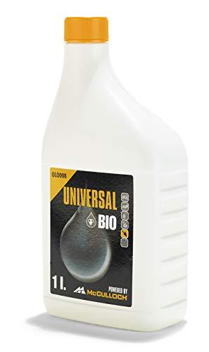Universal Bio-Kettenöl 1 L, OLO008: Schutz vor Verschleiß, hohe Schmierwirkung, ganzjährig verwendbar, biologisch abbaubar (Artikel-Nr. 00057-76.164.08)