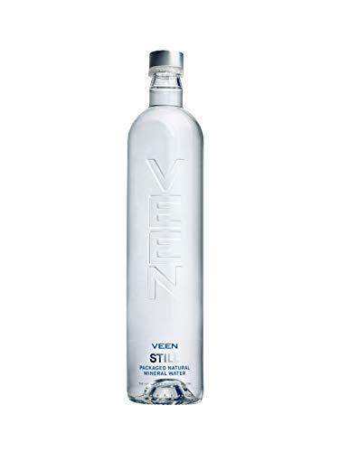 VEEN Velvet Quellwasser - Mineralwasser ohne Kohlensäure, stilles Wasser in hochwertiger Glasflasche, Durstlöscher aus Naturquelle, mineralarme stille Wasser, Wasserflasche aus Glas (12x 660ml)