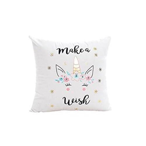 2700Lon cute Unicorn copertura del cuscino divano letto federa per cuscino decorazione domestica