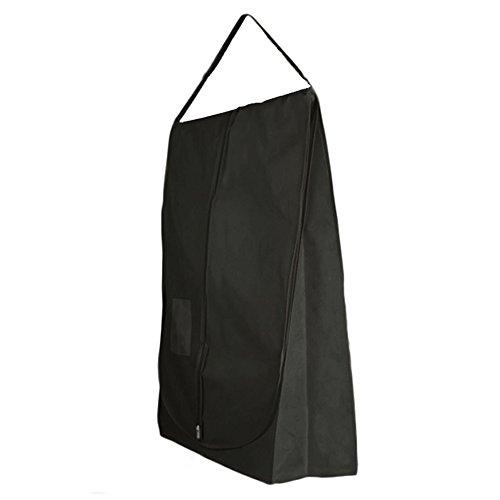 Hangerworld- custodia porta abiti impermeabile e traspirante nero con tracolla ideale per il trasporto - 183 cm