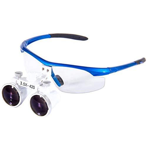 Pixier Lupas Binoculares Quirúrgicas Dentales Profesionales Para Dentistas, Gafas De Ajuste Bidireccional Médicas, Anteojos De Lupa Binocular, Aumento 3.5x Para Leer, Reparacio