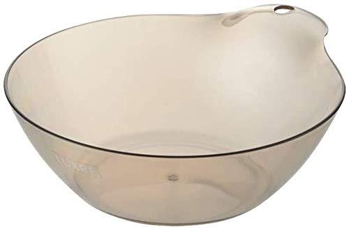 リュクレ 湯おけ 2.5L バスボール 洗面器 湯桶 風呂桶 日本製 一人暮らし ひとり 一人 二人暮らし [ブラウン]