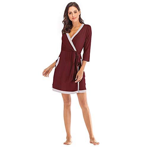 N\ A Damen-Schlafanzug, große Größe, locker, lässig, bequem, Hauskleidung Gr....
