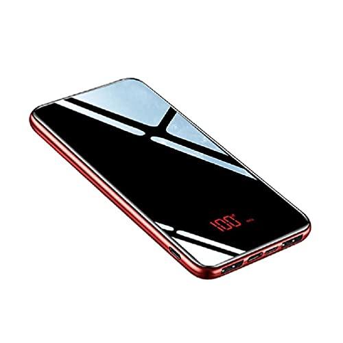Incdnn Cargador portátil Slimmest de 10000 mAh, USB C, triple pantalla LED de alta velocidad, 2,4 A, batería externa, tres salidas