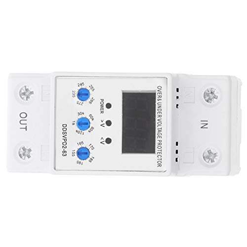 Dispositivo de protección de voltaje real, 40A, 63A 220V 50 / 60Hz Fuga de interruptores de circuito hecho de plástico