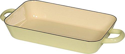 RIESS Classic - Haushaltsartikel Farbe/Pastell rechteckige Auflaufform Ø29/18 gelb