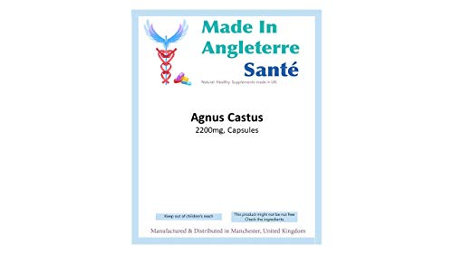 (MiA) ## 72 HRS DELIVERY ## Brand New Pack of'Agnus CASTUS' 1000mg Capsules (Made in UK) [Several Sizes Available] (30)