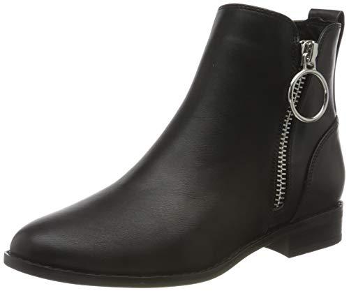 ONLY Damen ONLBOBBY-22 PU ZIP BOOT Mode-Stiefel, Black, 39 EU