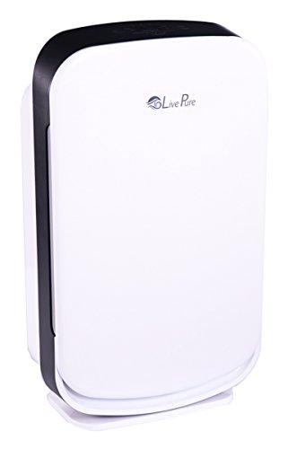 LivePure Aspen Series Medium Console Air Purifier for Home