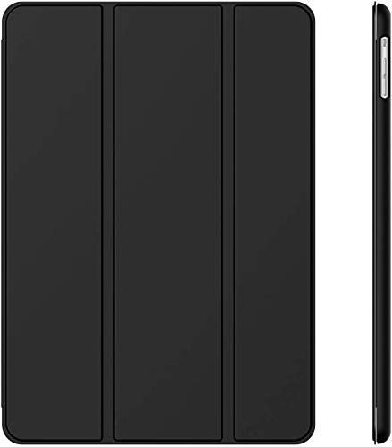 JETech Hülle Kompatibel iPad Air (2013 Modell), Schutzhülle mit Ständer Funktion und Auto Schlaf/Wachen, Schwarz