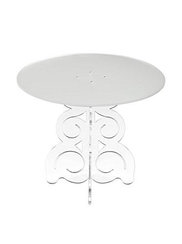EMPORIUM Tavolino Baricco Bianco