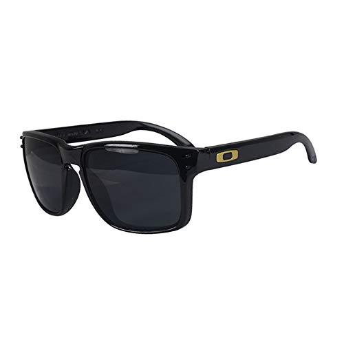DING-GLASSES Gafas Gafas de Sol for Hombre Protector Solar UV400 Deportivo Lente pequeña Marco pequeño Marco Completo (Color : 3)