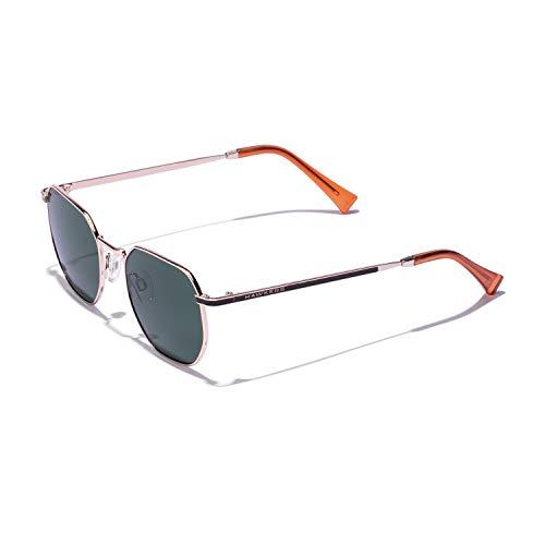 HAWKERS SIXGON Gafas de sol, Verde, One Size Unisex-Adult