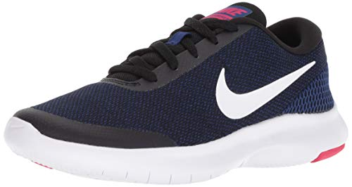 Nike Women's Flex Experience RN 7 Running Shoes Black/White/Royal 6