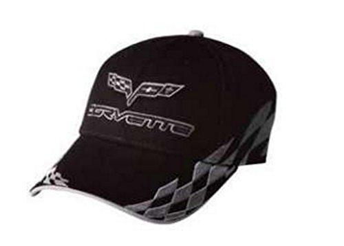 C6 Corvette Embroidered Bad Vette Hat/Cap (Silver)