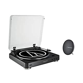 Audio-Technica AT-LP60SPBT-BK Fully Automatic Belt-Drive Wireless Turntable and Speaker System (B07D5159RN) | Amazon price tracker / tracking, Amazon price history charts, Amazon price watches, Amazon price drop alerts