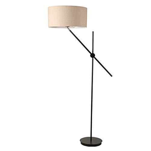 NYKK Lámpara de pie Lámpara de pie Ajustable Minimalista Elegante Estudio de la Sala de Estar Lámpara de pie Vertical Lámpara de Piso