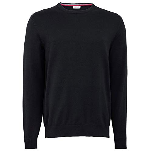 ESPRIT Herren 996EE2I900 Pullover, Schwarz (001), 01/19, XL