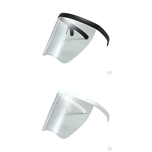 Colcolo Gafas de Sol con Protección Facial de 4 Piezas