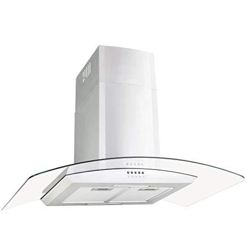 vidaXL Wandafzuigkap met LED 756 m³/u 90 cm Roestvrij Staal Afzuigkap Keuken