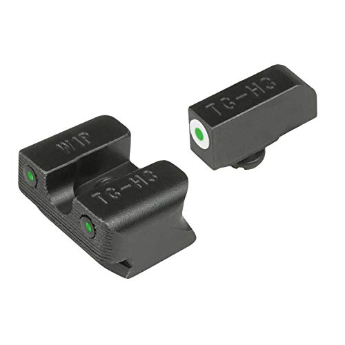 TRUGLO Tritium Pro Glow-in-The-Dark Handgun Night Sights for Walther Pistols, Walther P99 and PPQ