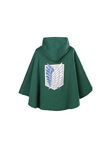 Big Fun Shingeki no Kyojin Attack on Titan Cloak Scouting Legion Freedom Cloak Cape (M (165-175cm))  - http://coolthings.us