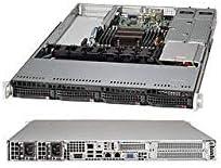 Supermicro SuperChassis CSE-815TQ-R706WB 700W/750W 1U Rackmount Server Chassis (Black)