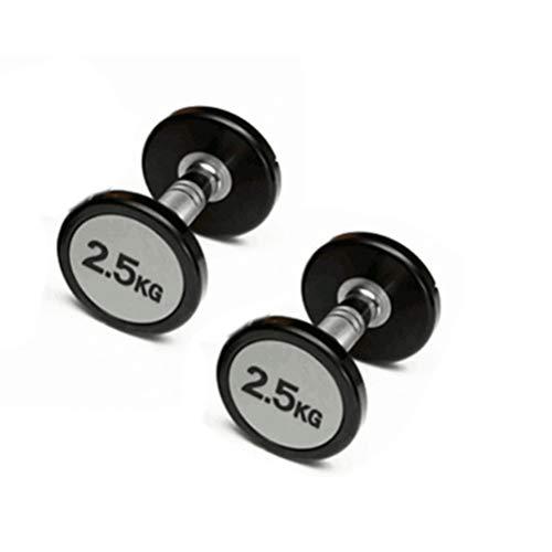 Halterparen met stevig gewicht 2,5 kg PU-halters voor spieropbouw en spiertraining.