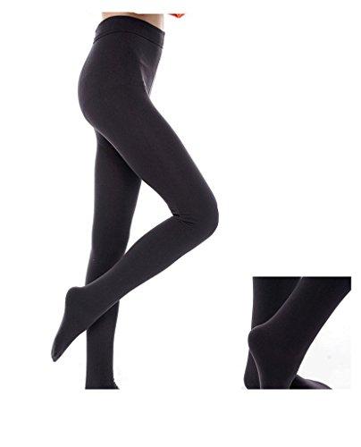 Onderscheidend 80D zwart ondoorzichtig vrouwen panty met voetjes