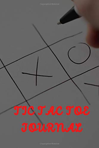 Tic Tac Toe Journal: Mini Blank Tic Tac Toe Game Book For Adults And Kids