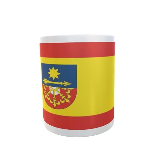 U24 Tasse Kaffeebecher Mug Cup Flagge Hünxe