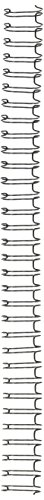 "GBC WireBind Binding Spines / Spirals, 3:1 Pitch, 1/2"", 100 sheet capacity, Black, 100 Pack (9775028G)"