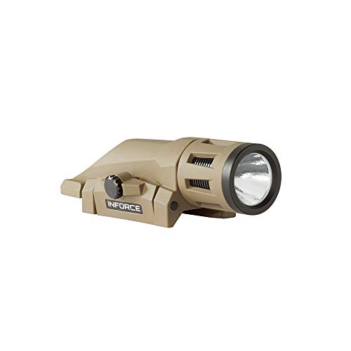 Inforce WML 400 Lumens Gen 2 White Light Flat Dark Earth Body W-06-1 Weapon Mounted Light