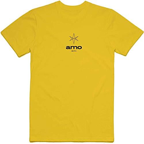 Bring Me The Horizon Herren Hexagram Amo T-Shirt, Gelb (Yellow Yellow), Large