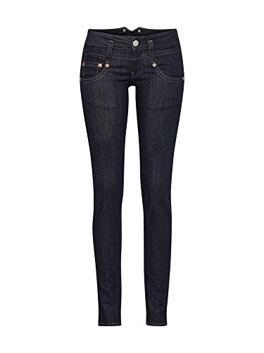 Herrlicher Damen Pitch Slim Denim Jeans, raw 026, W28/L32