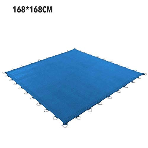 Lifesongs Trampoline Mat,Weatherproof Thick Mesh Trampoline Pad Square Trampoline Cover