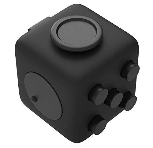 Amarion Fidget Cube für Erwachsene und Kinder - Handtrainer - Toller Anti Stress Würfel als Stresskiller Spielzeug - Entspannungs Gadgets für Männer & Frauen - Stresswürfel Geschenk