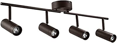 LEONLITE 28W LED Dimmable Track Light, ETL Listed 4-in-1 Ceiling Spot Lighting, 1800lm, Flexibly Rotatable Light Head, for Accent Lighting, Decorative Lighting, 5-Year Warranty