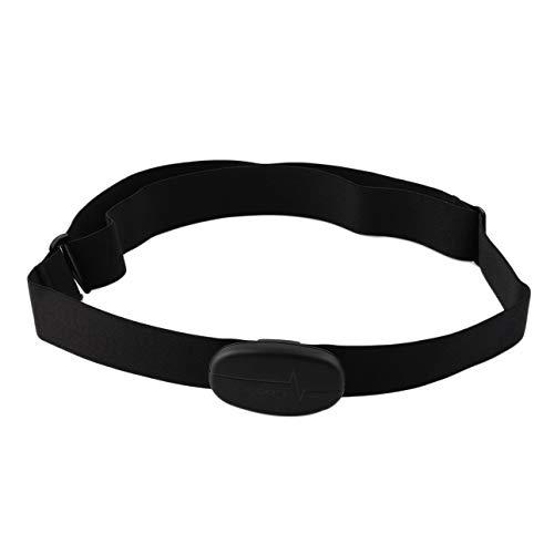 Ballylelly H6 Smart Sensor Fascia Toracica Ant Bluetooth V4.0 Wireless Cardiofrequenzimetro Sportivo Fitness per Cellulare Cellulare Nero