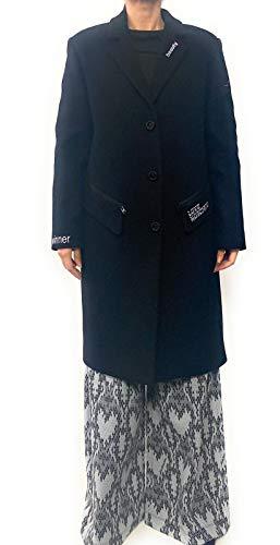Love Moschino Mantel schwarz Damen, Schwarz 36