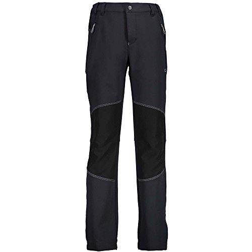 CMP Jungen Pantalone Outdoor Stretch Hose, Antracite-nero, 140
