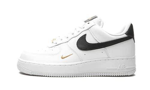 Nike Air Force 1 '07 Essential, Scarpe da Basket. Donna, Bianco e Nero, 41 EU