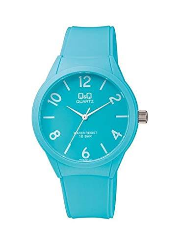 Relógio Q&Q, Feminino, Fashion, Analógico, Azul