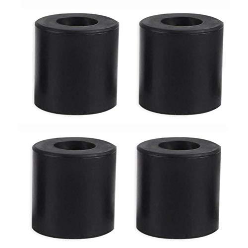 3D Drucker Hot Bed Säule Heizbett Silikon Nivelliersäule Hitzebeständig Stabil Schwarz Halterungen Säulen Werkzeuge Zubehör 4 Stück