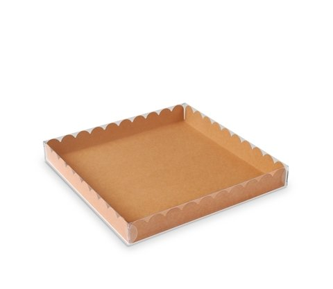 Selfpackaging Caja Galletas Macarons Tapa Transparente