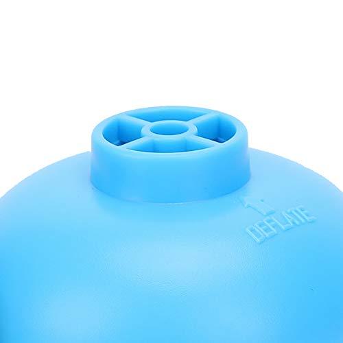 01 Bomba de Aire USB Azul, inflador de Bote eléctrico pequeño de inflación/Escape, Potente DC5V para Bote neumático de Cama Inflable